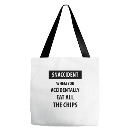 Snaccident When You Accidentally Tote Bags Designed By Rafaellopez