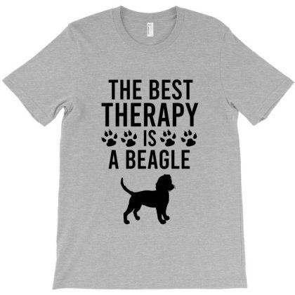 The Best Therapy Is A Beagle T-shirt Designed By Cypryanus
