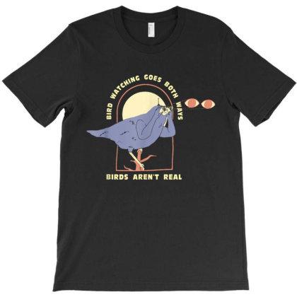 Bird Watching Goes Both Ways T-shirt Designed By Kakashop