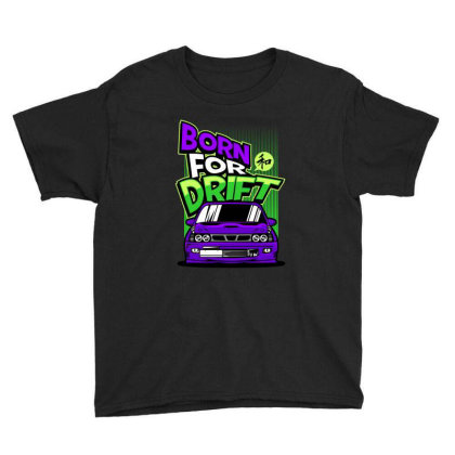 Popular Drifter Youth Tee Designed By Spoilerinc