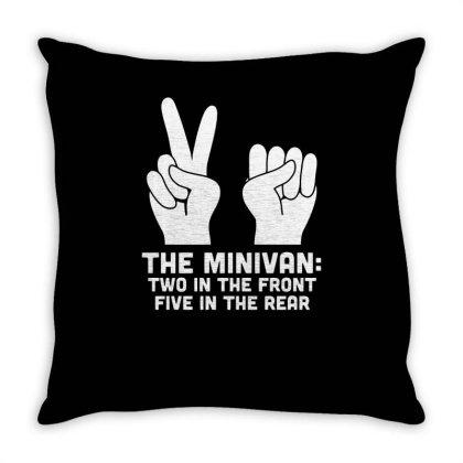 The Minivan Funny Throw Pillow Designed By Erishirt