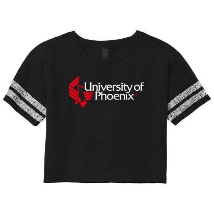 University Of Phoenix Scorecard Crop Tee Designed By Cahyorin