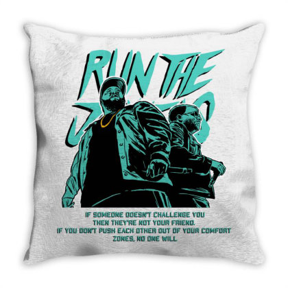 Run The Jewels 4 (rtj4) Throw Pillow Designed By Yugi870717