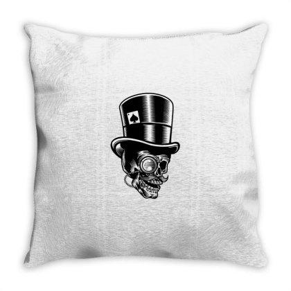 Classic Gentleman Throw Pillow Designed By Rulart