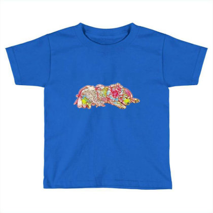 Adorable Six Week Old Golden Toddler T-shirt Designed By Kemnabi