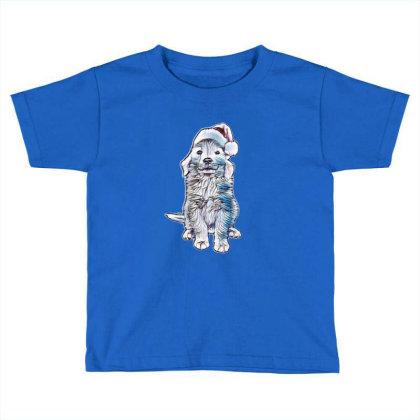 Golden Retriever Puppy Dog We Toddler T-shirt Designed By Kemnabi