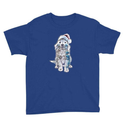 Golden Retriever Puppy Dog We Youth Tee Designed By Kemnabi