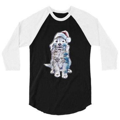 Golden Retriever Puppy Dog We 3/4 Sleeve Shirt Designed By Kemnabi