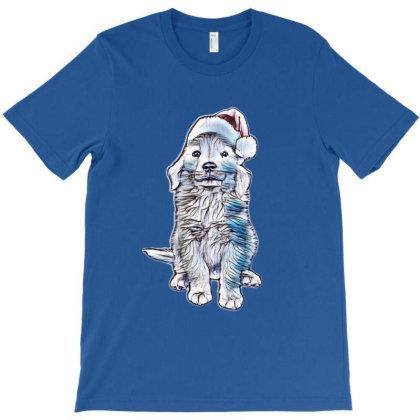 Golden Retriever Puppy Dog We T-shirt Designed By Kemnabi