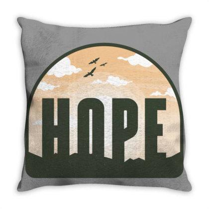 Hope Peaceful Throw Pillow Designed By Bakari10
