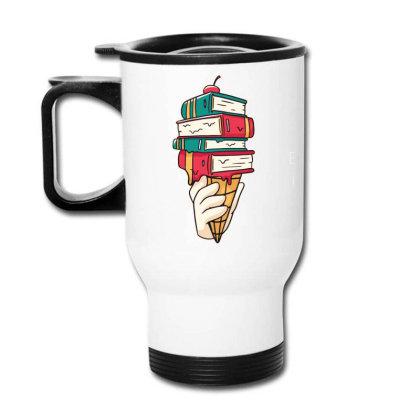 Book Ice Cream Travel Mug Designed By Bakari10