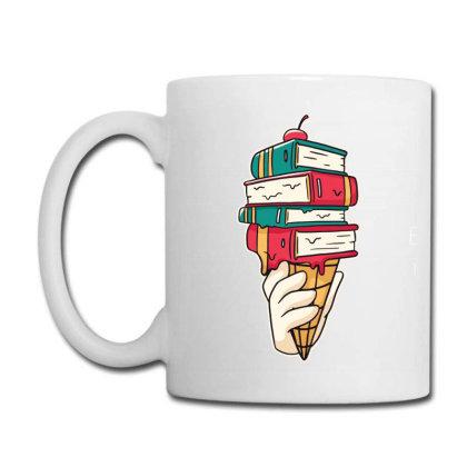 Book Ice Cream Coffee Mug Designed By Bakari10