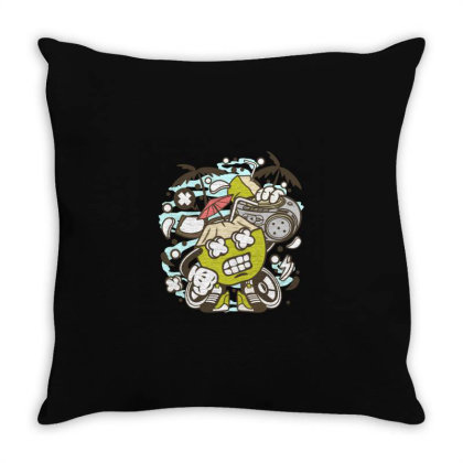 Coconut Boombox Throw Pillow Designed By Rulart
