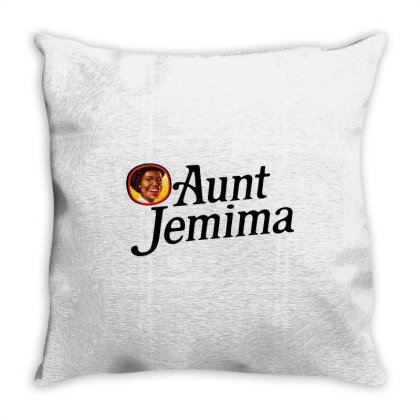 Aunt Jemima Throw Pillow Designed By Tht