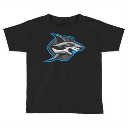 Shark Toddler T-shirt Designed By Januarart