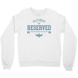 reserved secret society club Crewneck Sweatshirt | Artistshot