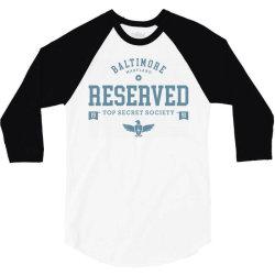 reserved secret society club 3/4 Sleeve Shirt | Artistshot