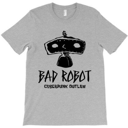 Bad Robot Cyberpunk T-shirt Designed By Designisfun