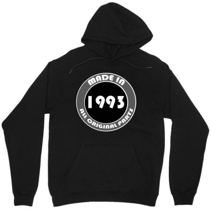 Made In 1993 All Original Parts Unisex Hoodie Designed By Ashlıcar