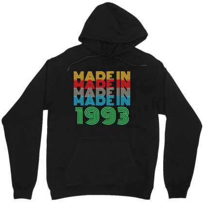 Made In 1993 Unisex Hoodie Designed By Ashlıcar