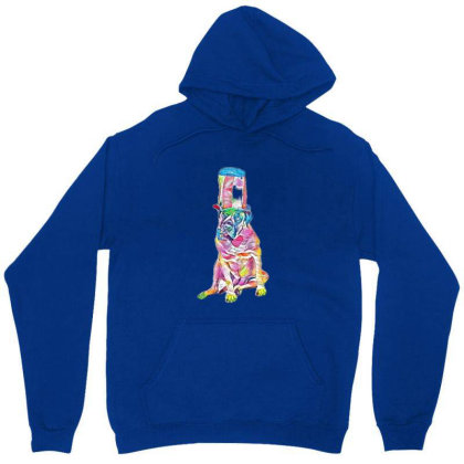 A Large Breed English Mastiff Unisex Hoodie Designed By Kemnabi