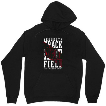 Blooklin Track And Field United States Of America Unisex Hoodie Designed By Chris299