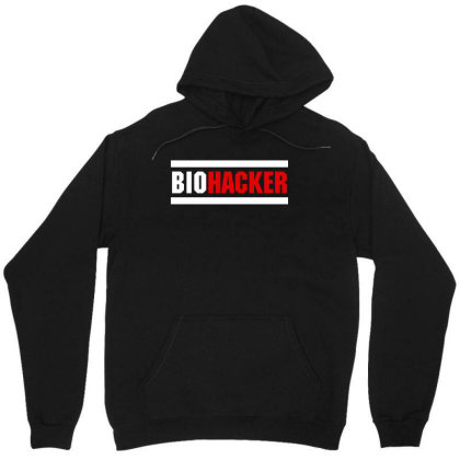 Biohacker Unisex Hoodie Designed By Helloshop