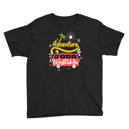Adventure Worthwhife Youth Tee Designed By Chris299