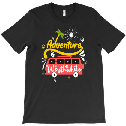 Adventure Worthwhife T-shirt Designed By Chris299