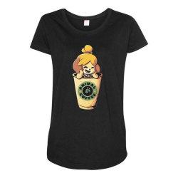 Animal Coffee Maternity Scoop Neck T-shirt   Artistshot