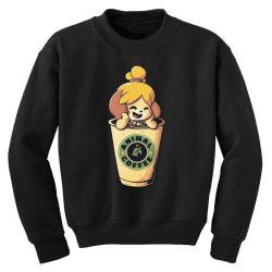 Animal Coffee Youth Sweatshirt | Artistshot