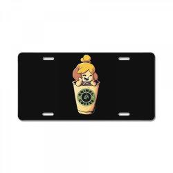 Animal Coffee License Plate | Artistshot