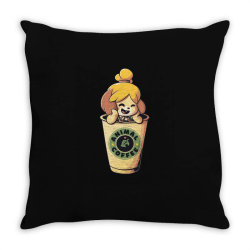Animal Coffee Throw Pillow | Artistshot