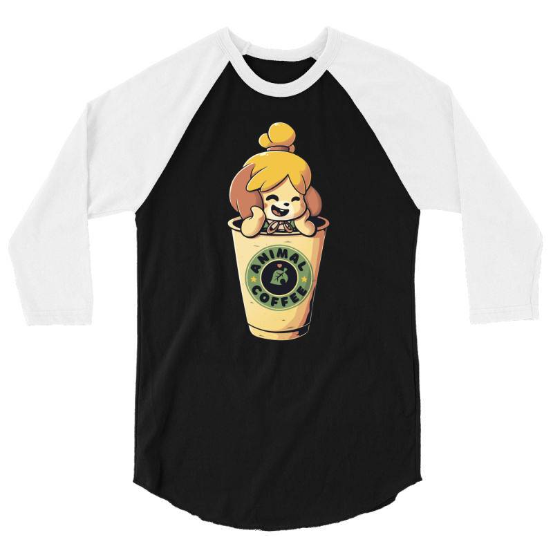 Animal Coffee 3/4 Sleeve Shirt | Artistshot