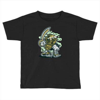 Diver Toddler T-shirt Designed By Rulart