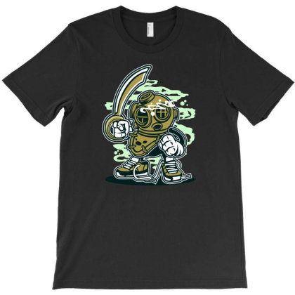 Diver T-shirt Designed By Rulart