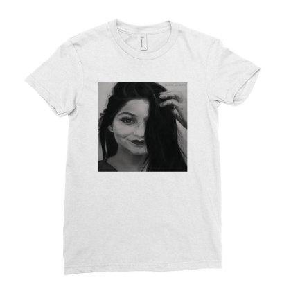 Stylish Vinie Ladies Fitted T-shirt Designed By Vinie_palette