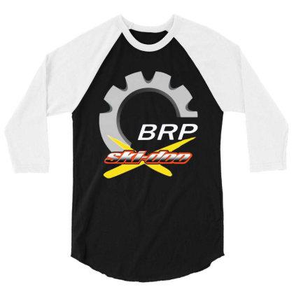 Ski Doo 3/4 Sleeve Shirt Designed By Tht