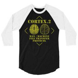 man machine file transfer protocol 3/4 Sleeve Shirt | Artistshot