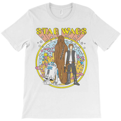 Star Wars Vintage Psych Rebels T-shirt Designed By Amber Petty