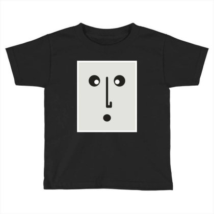 Confused Face. Toddler T-shirt Designed By Byng