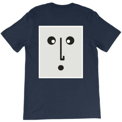Confused Face. T-shirt Designed By Byng