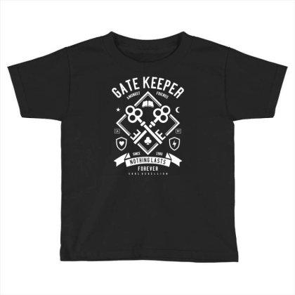 Gate Keeper Toddler T-shirt Designed By Rulart