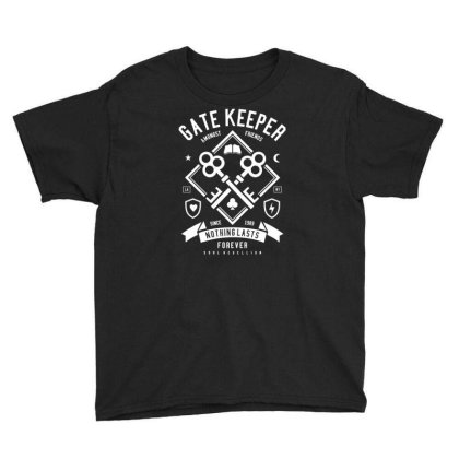 Gate Keeper Youth Tee Designed By Rulart