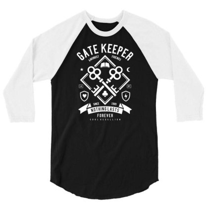 Gate Keeper 3/4 Sleeve Shirt Designed By Rulart