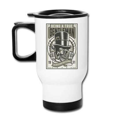 Gentleman Travel Mug Designed By Rulart
