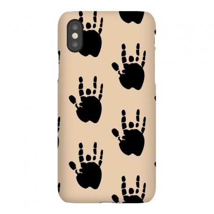 Black Grateful Dead Jerry Garcia Hand Iphonex Case Designed By Yudyud