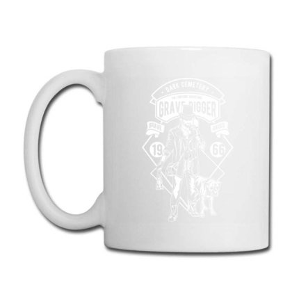 Grave Digger Coffee Mug Designed By Rulart