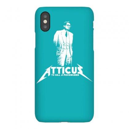 To Kill A Mockingbird Atticus Iphonex Case Designed By Printshirts