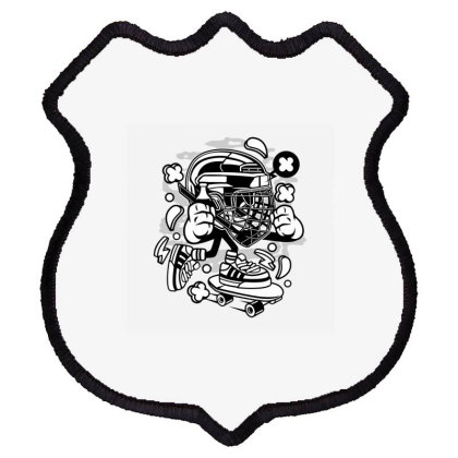 Hockey 1 Shield Patch Designed By Rulart